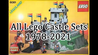 All Lego Castle Sets 1978 - 2021 | Bricks Planet