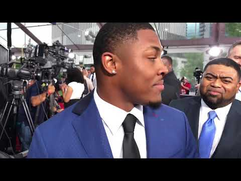 Josh Jacobs Interview At 2019 NFL Draft Red Carpet