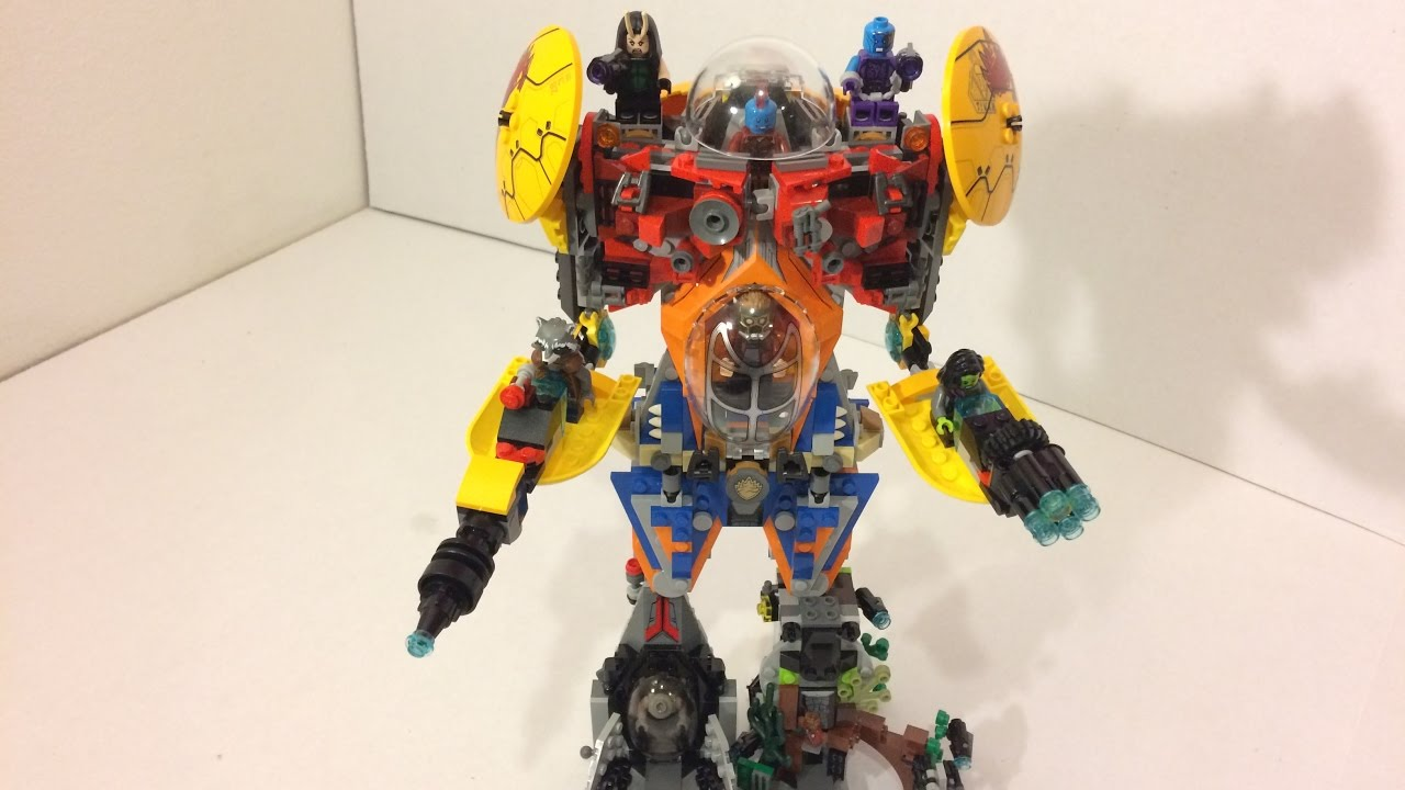 how to build a lego megazord