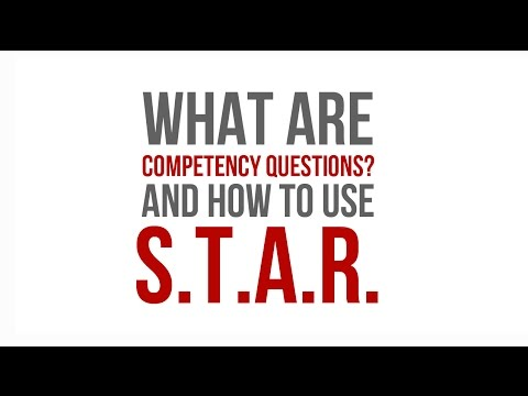 Competency Questions  The STAR Technique - YouTube