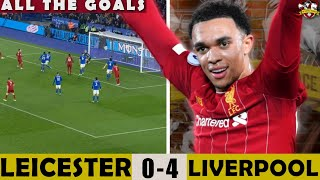 Trent Alexander-Arnold is WORLD CLASS | Leicester City 0-4 Liverpool