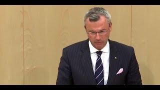 Misstrauensantrag gegen Kurz: Rede von Hofer