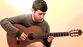 """Guitar cover w/TAB """"Berimbau/Consolaçao"""" -- Baden Powell"""