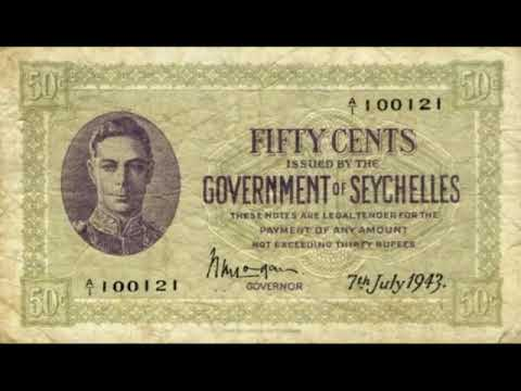 Paper money of the Seychelles is the Seychelles Rupee - banknotes - banknotes
