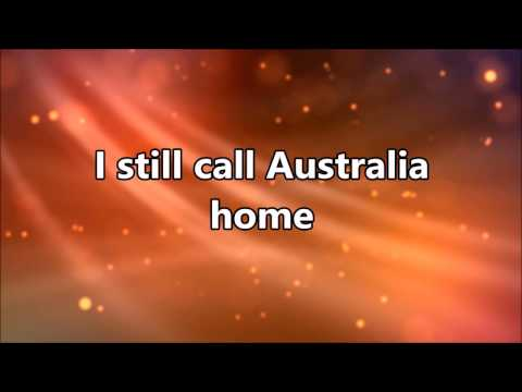 Peter Allen - I still Call Australia Home (karaoke) 🌏