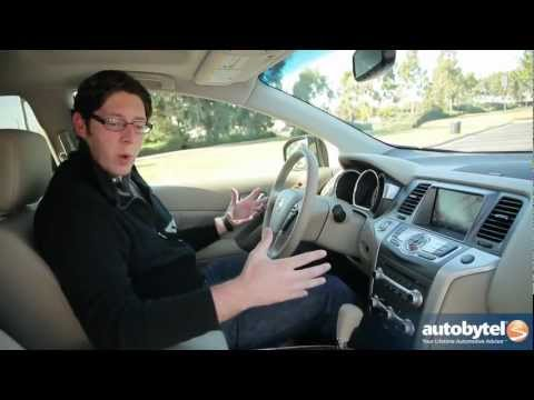 2012 Nissan Murano Test Drive & Crossover SUV Review
