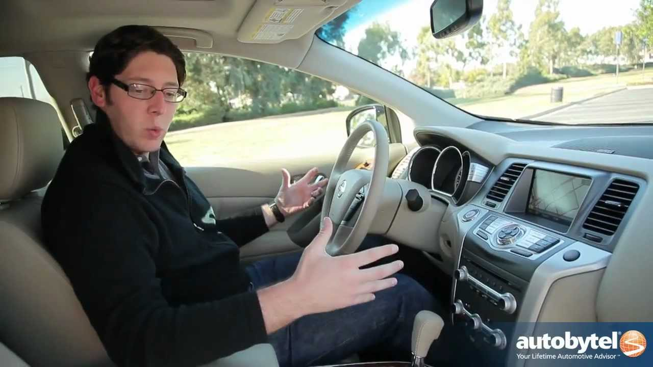 2012 nissan murano test drive crossover suv review youtube vanachro Gallery