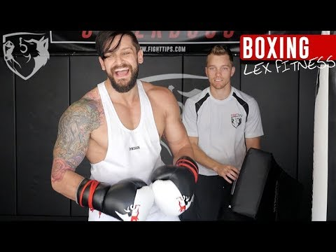 This Bodybuilder wants a Boxing match...