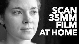 Scanning 35mm Film Negatives at Home. Pakon, Plustek and Epson Scanners. Video