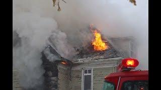 Fire Rips Through 3 Story House - Brandon, MB