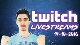 TWITCH LIVESTREAMS 19-10-2016 (2/2) - Football Manager 2017