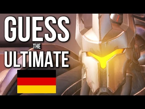 Overwatch Quiz   GUESS the ULTIMATE German Edition