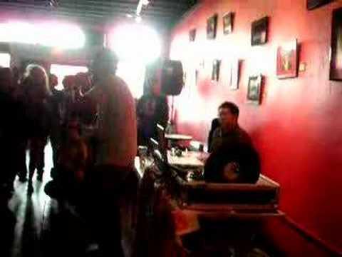 Pigeon John at Creekside Lounge performing