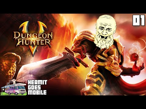 HACK & SLASH FOR CASH!!! - Dungeon Hunter 5 IOS Android 1080p HD Walkthrough