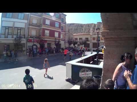Encierro Infantil. Fiestas Alcolea de Cinca 2014