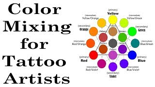 Color Theory Ink Mixing for Tattoo Artists