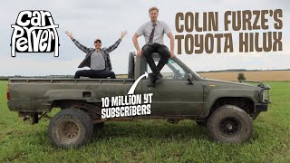 YouTuber Colin Furze got famous using this rusty classic Toyota Hilux