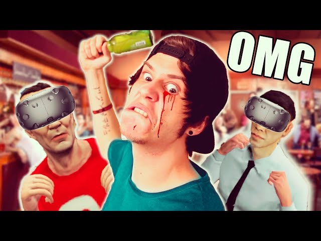 PELEA DE BORRACHOS EN REALIDAD VIRTUAL