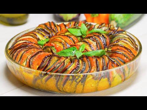Рататуй, овощное рагу - знаменитое блюдо французской кухни. Рецепт от Всегда Вкусно!