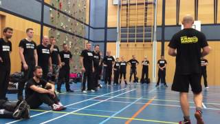 Ground Defense against a Knife Attack with Amnon Darsa at Institute Krav Maga Netherlands.