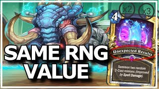 Hearthstone - Best of Same RNG Value