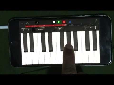 Piano Garage Band : Tujhe dekha iphone grand piano garageband ddlj youtube