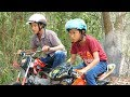 Gambar cover NERF GUN MINI BIKER RACING
