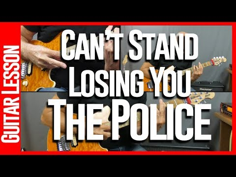 Cant Stand Losing You By The Police - Guitar Lesson