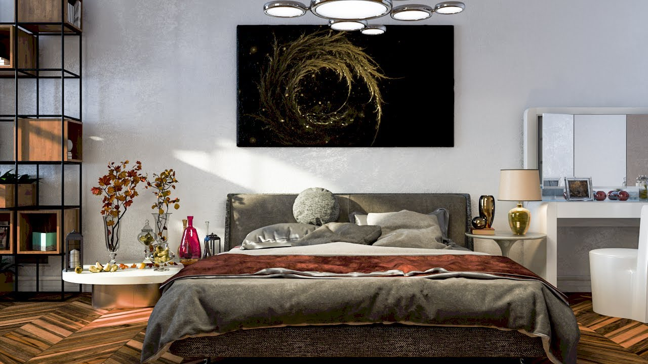 Bedroom Settings. Awesome Tv Set Design Ideas Home Setup ...