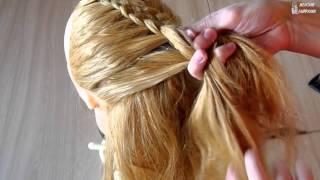 Как плести косу из 5 прядей. Самый простой способ
