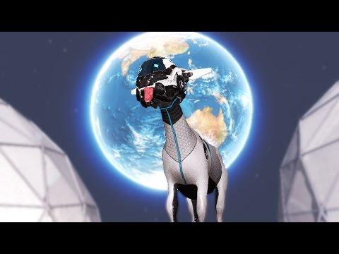 DESTROY THE EARTH | Goat Simulator Space DLC #1