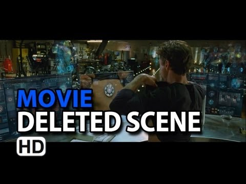 "Iron Man 2 (2010) Extended Scene ""Tony s Workshop"""