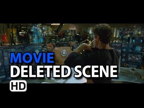"Iron Man 2 (2010) Extended Scene ""Tony S Workshop"""