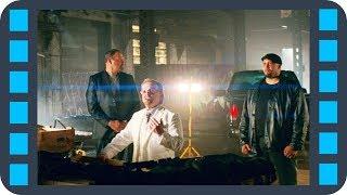 Перестрелка с торговцами оружием — Малыш на драйве (2017) сцена 7/10 HD