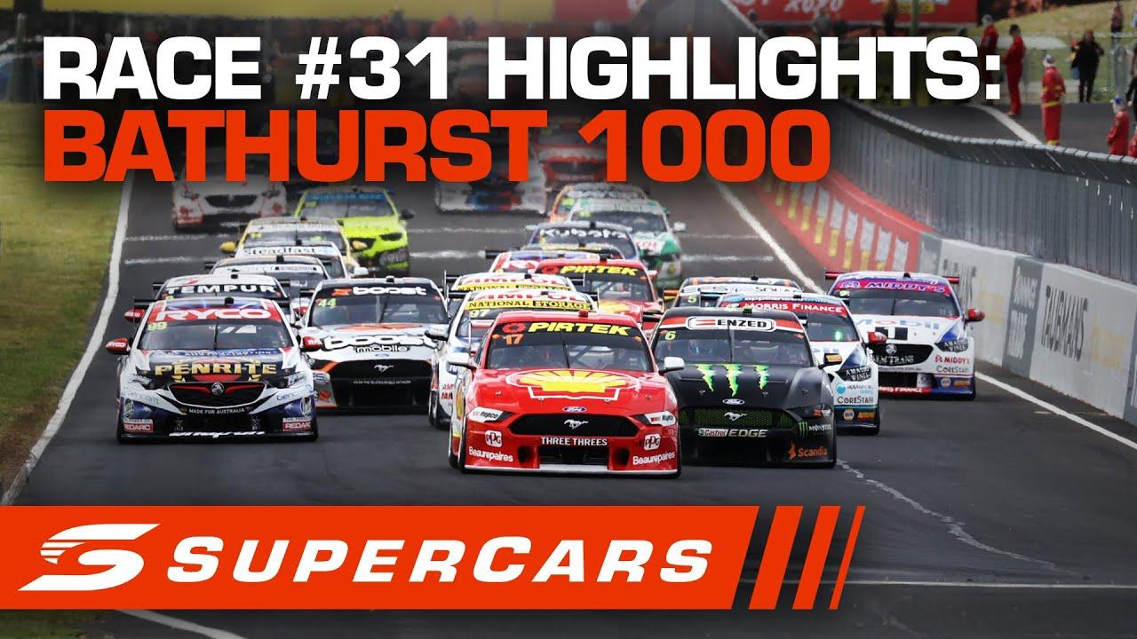 Highlights: Race #31 - Supercheap Auto Bathurst 1000 | Supercars 2020