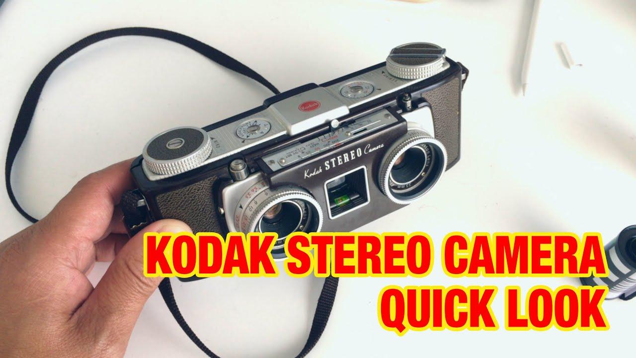 Kodak Stereo Camera Quick Look Youtube