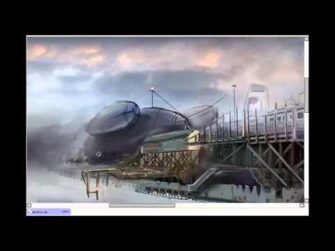 Digital Painting – skydive speedpainting tutorial