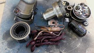Як розібрати старий компресор від 2500 бк на брухт
