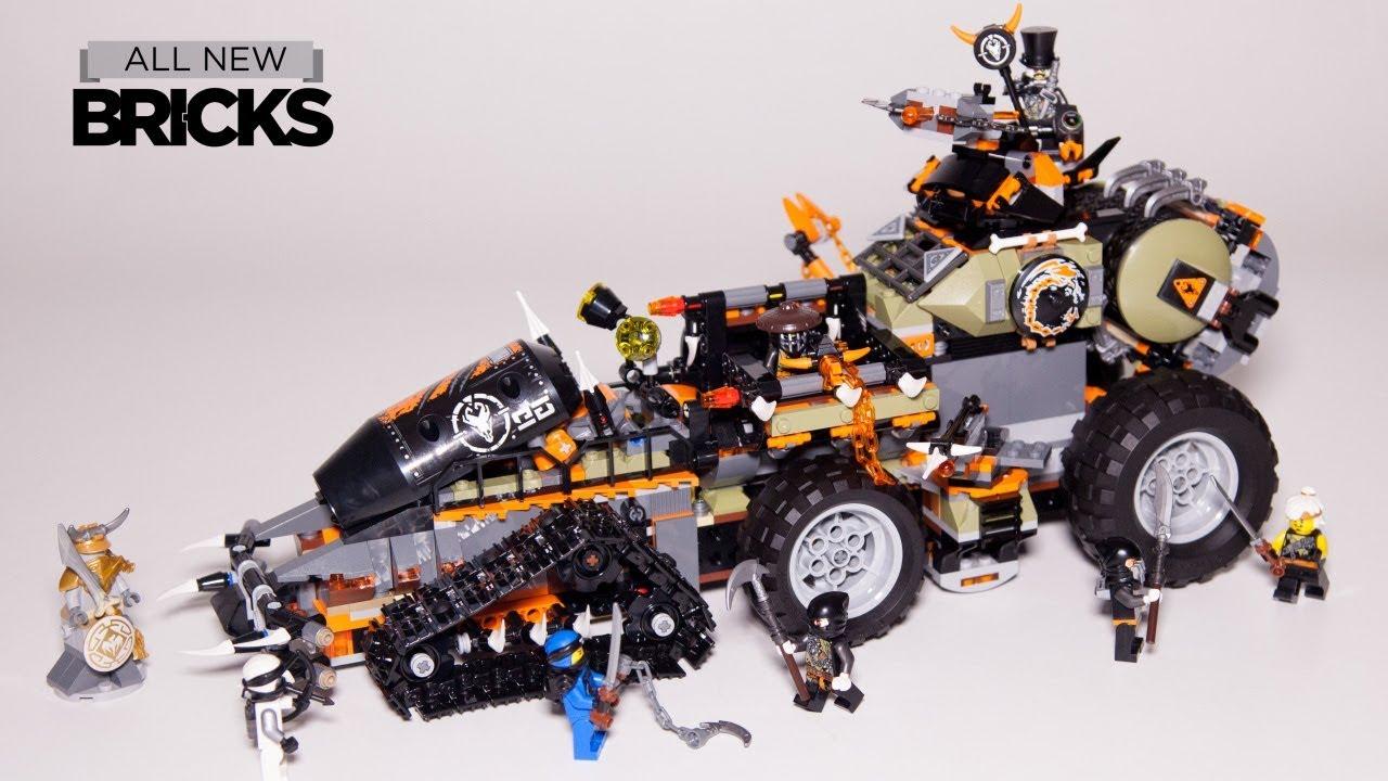LEGO 70654 Ninjago Dragon Hunters' Dieselnaut Tank 70654 **FREE POST**