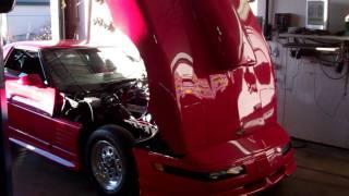1985 ProStreet Blower Corvette - Dyno Run