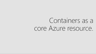 Containers as infrastructure: Getting started with Azure Container Instances   THR2217R