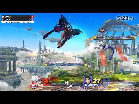 WaDi vs Lima - EGLX 2018 - Wii U Winners Top 24