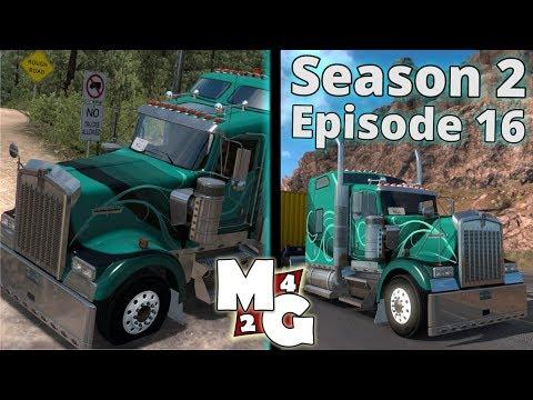 American Truck Simulator [S2]  | Raton to Santa Fe (Part 2) | New Mexico DLC: Episode 16