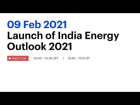 Launch of India Energy Outlook 2021