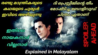 The Prestige | 2006 | Explained In Malayalam | by Riyas Pulikkal | Christopher Nolan | r2h Media