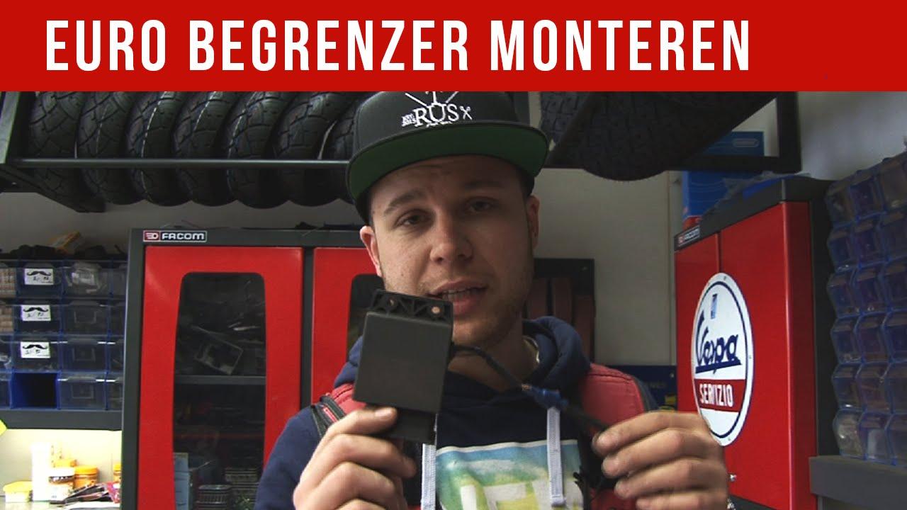 Ongebruikt EURO BEGRENZER MONTEREN | VOL GAS MET JOEY - YouTube BY-72