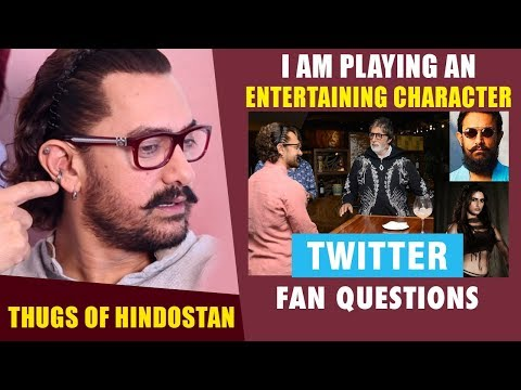 """I Am Playing An ENTERTAINING Character In Thugs Of Hindostan"": Aamir Khan 