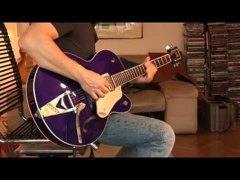 Gretsch Brian Setzer Hot Rod, purple