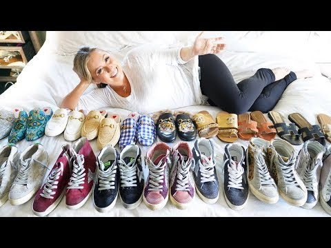MY DESIGNER SHOE COLLECTION - GUCCI & GOLDEN GOOSE