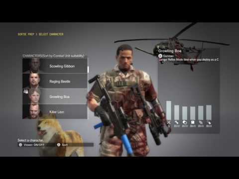 Metal Gear Solid V: The Phantom Pain - Part 172: Red Brass + Occupation Forces with Dark Phoenix